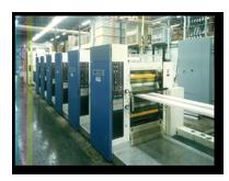 half web printing Harris M-110 B Heat Set Web equipment