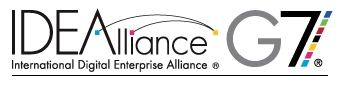g7 print alliance logo
