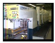 sheet fed printing full size Komori equipment